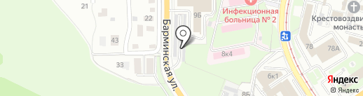 АтлантАвтоНН на карте Нижнего Новгорода