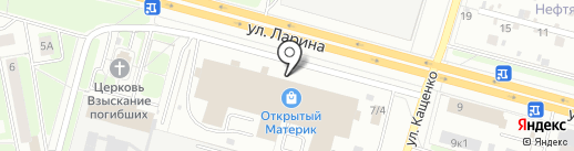 D`art mebel на карте Нижнего Новгорода