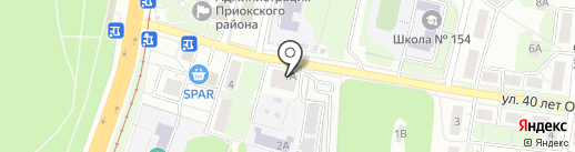 RMOBI-Service на карте Нижнего Новгорода