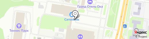 Киоск по продаже шаурмы на карте Нижнего Новгорода