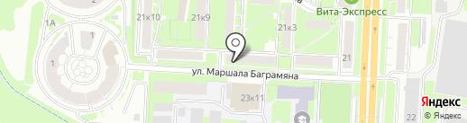 ШоколадЪ на карте Нижнего Новгорода