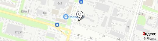 У Амера на карте Нижнего Новгорода