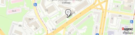 УАЦ НЦТД на карте Нижнего Новгорода