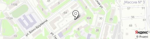 ИнформБюро на карте Нижнего Новгорода