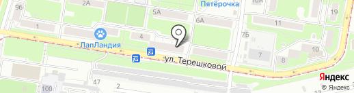 Консультативно-диагностический центр на карте Нижнего Новгорода