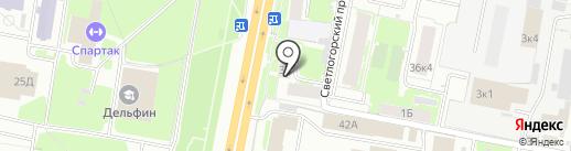 Topsport на карте Нижнего Новгорода