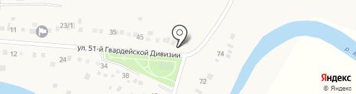 Курс на карте Карповки