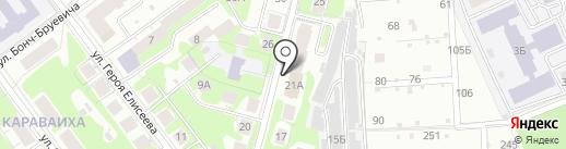 НКБ Радиотехбанк, ПАО на карте Нижнего Новгорода