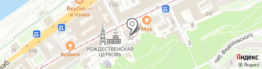 Туры в городе N на карте Нижнего Новгорода