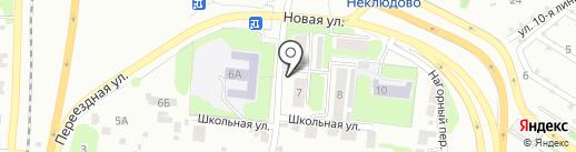 На Новой на карте Бора