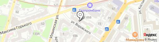 Сносим.ком на карте Нижнего Новгорода