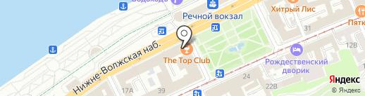 SRV24 на карте Нижнего Новгорода