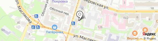 Buenos & Osobniak на карте Нижнего Новгорода