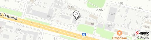 Пункт приема металлолома на карте Нижнего Новгорода