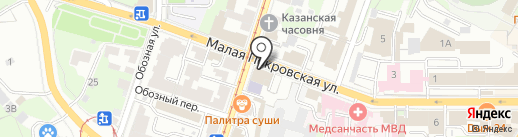 BeefBurger на карте Нижнего Новгорода