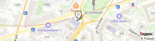 Нижегородская академия МВД России на карте Нижнего Новгорода