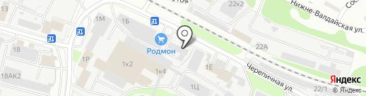 АвтоЭксперт на карте Нижнего Новгорода