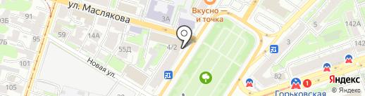 Bright Dress на карте Нижнего Новгорода