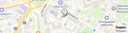 Банкомат, Банк Союз на карте Нижнего Новгорода