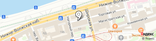 ЭЛИТ ДИЗАЙН на карте Нижнего Новгорода