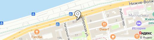 УпаковкаТорг на карте Нижнего Новгорода
