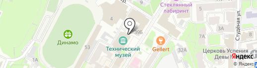 Великое отечество на карте Нижнего Новгорода