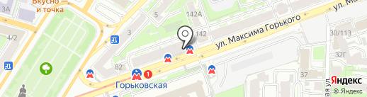 Чеки Нижний Новгород на карте Нижнего Новгорода