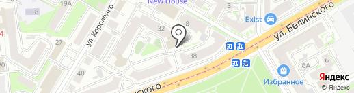 Business food на карте Нижнего Новгорода