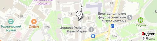 ОптимизациЯ на карте Нижнего Новгорода