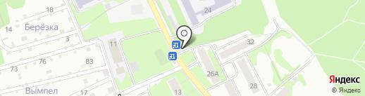 Киоск овощей и фруктов на карте Нижнего Новгорода
