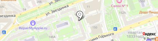Арт Климат на карте Нижнего Новгорода