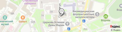 Garden Flora на карте Нижнего Новгорода