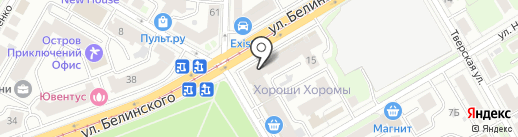 Банк Финам на карте Нижнего Новгорода