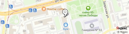 Olivia на карте Нижнего Новгорода