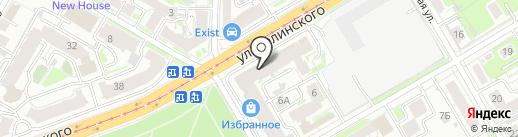 Музыкальный Бомонд на карте Нижнего Новгорода