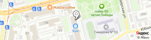 Магазин фурнитуры на карте Нижнего Новгорода