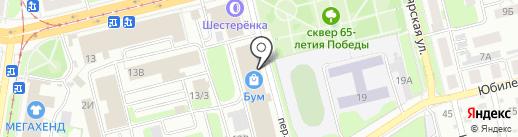 Мир кроватей на карте Нижнего Новгорода
