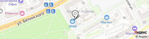 СЛЕБ НН на карте Нижнего Новгорода