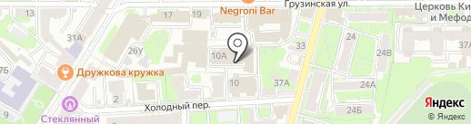 omniPark на карте Нижнего Новгорода