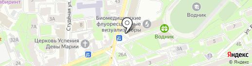 ГОРОДСКАЯ ЮРИДИЧЕСКАЯ СЛУЖБА на карте Нижнего Новгорода