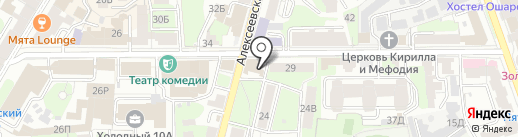 OnlineVoyage на карте Нижнего Новгорода