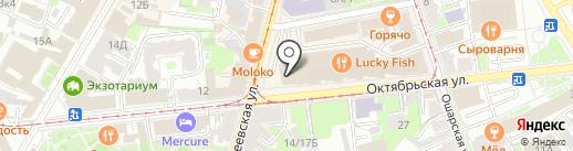 Coral Elite Service на карте Нижнего Новгорода