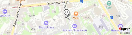 Doski на карте Нижнего Новгорода