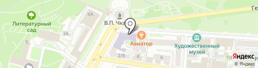 Архитектурная мастерская Дениса Ситникова на карте Нижнего Новгорода