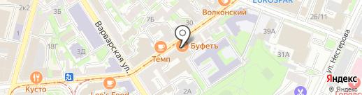 Radius на карте Нижнего Новгорода