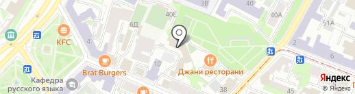 Дарина на карте Нижнего Новгорода