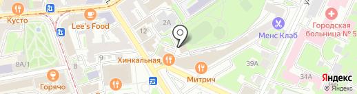 Воздух на карте Нижнего Новгорода