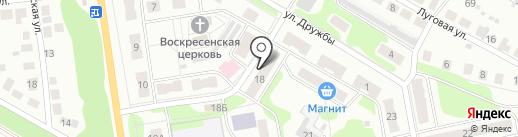 Почтовое отделение на карте Бора