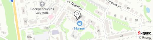 Серебристый источник на карте Бора