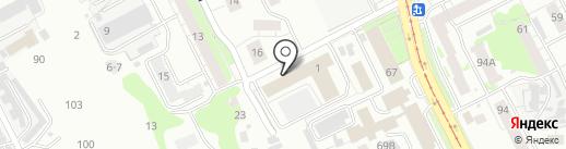 Компания по установке бытовой и аудио-видео техники на карте Нижнего Новгорода